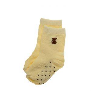 זוג גרביים צהוב