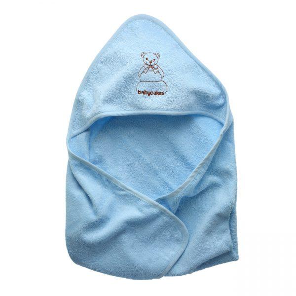מגבת קפוצ'ון לתינוק-0