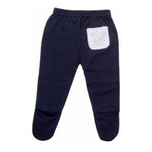 מכנס רגלית כחול נייבי