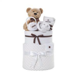 חבילת בייבי קייק משולב רגיל לבן