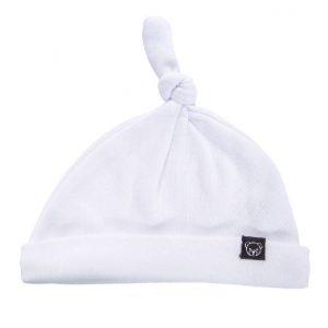 כובע קשר לבן חלק