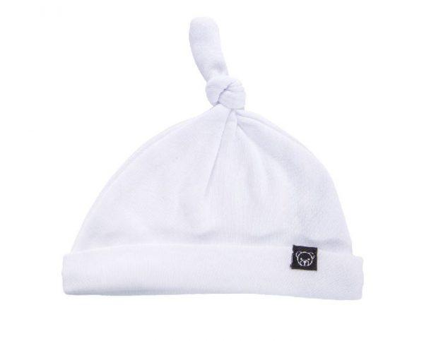 כובע קשר- לבן חלק-0