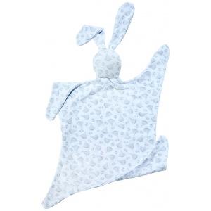 שמיכי – ארנבון בד בצבע אפור לבן