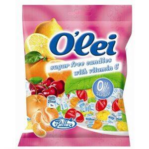 סוכריות בטעם פירות ללא סוכר O'LEI
